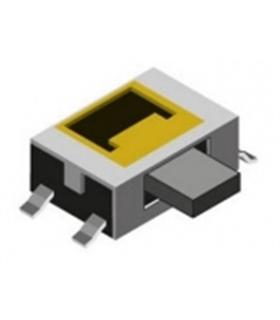 Pulsador Miniatura 4.0x3.5x1.4 12VDC 50mA SMD - SW027