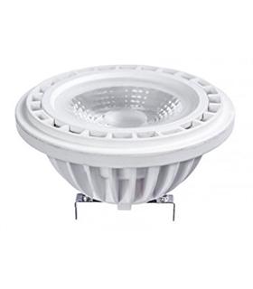 Lampada LED G53 12V 17W 3000k Branco Quente - WOJ12880