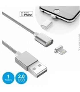 Cabo USB Com Ponta Magnética para iPhone 5/6 - MXIPHONEMAG01