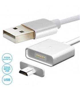 Cabo USB Com Ponta Magnética Para Micro USB - MXUSBBMAG01