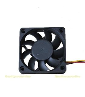 Ventilador 12V 60X60X25mm 1.5W 3 Fios - V126S