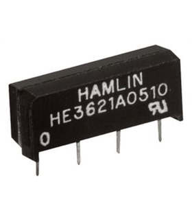 HE3321A0400 - Reed Relay, SPST-NO 5VDC 500mA - HE3321A0400