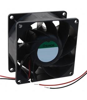 Ventilador 12V 80x80x38mm 9.1W - PMD1208PMB1-A