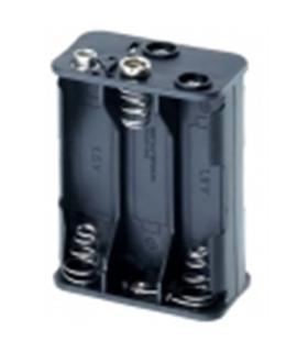 Suporte 6 Pilhas LR6 - S6LR6