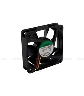 Ventilador 5V 60x60x15mm 1W c/ 3 Fios - V65S
