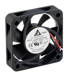 Ventilador Delta 5V 40x40x10mm 0.65W - ASB0405HHAA