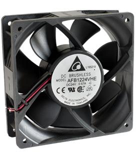 Ventilador Delta 24V 120X120x38mm 8.64W - AFB1224VHEC
