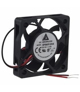 Ventilador Delta 12V 50x50x10mm 1.2W - EFB0512HA