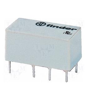 Relé electromagnetico DPDT12VDC; 8A/250VAC; 8A/30VDC - F41529012