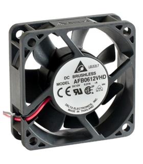 Ventilador Delta 12V 60x60x20mm 2.28W - AFB0612VHDA