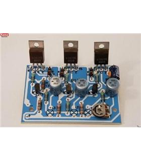 Kit de montagem sequenciador de luzes de 3 canais- Kemo B128 - B128