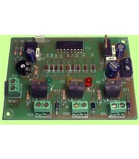 I-91 - Semaforo Electronico 12-15vdc - I91