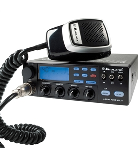 Radio Cb AM/FM Com Sistema de P.A. - ALAN48PLUS