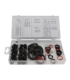 Kit de Anilhas Estanques Com 125 Unidades - HAS01