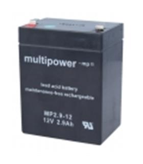 MP2.9-12 - Bateria 12V 2.9Amp Negativo Direito - MP2.9-12
