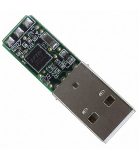 TTL-232R-3V3-PCB - MOD, SER CONV, FT232RQ, USB TO UART - TTL232R3V3
