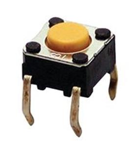 Pulsador Ci - SWITCH, FLAT, 6X6X5, 150GF - SW60