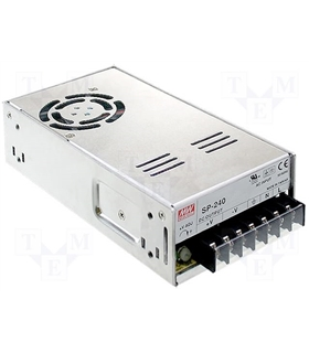 SP24024 - Fonte De Alimentação IN-88/264VAC - OUT-24VDC10A - SP24024
