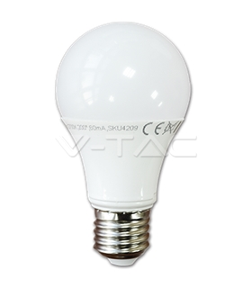 Lampada Led E27 230V 9W 4000k - VT7261