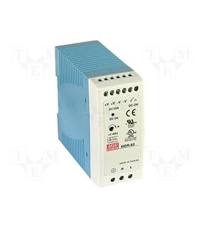 MDR6048 - Input 85-264Vac Output 48V 1.25A 60W - MDR6048