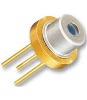 2008368 -  Laser Diode, Visible, 650 nm, 3 Pins, 7 mW - 2008368