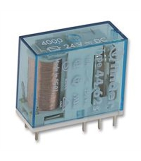 Type 44.62S - Rele FInder 24Vdc 10A 2 Inversores - F4462S2410