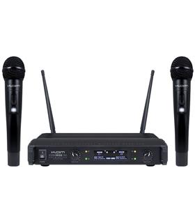 Central 3 Microfones UHF S/Fios 1 Mão - KWM1932A