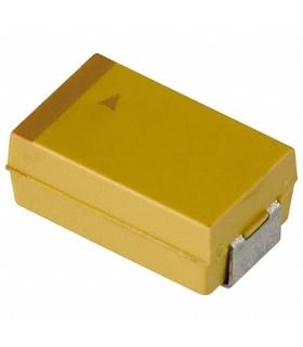 Condensador Tantalo 10uF 6.3V Smd - 31410U6.3D