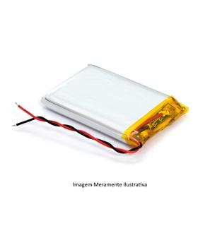 L202430 - Bateria Recarregavel Li-Po 3.7V 85mAh 2x24x30mm - L202430