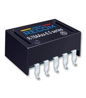 R78AA3.3-0.5 SMD - Conversor DC DC 0.5A 3.3V - R78AA3305SMD