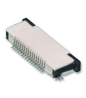 16FLZ-SM2-TB - Conector Board FFC / FPC, 0.5mm 16pinos - 16FLZ-SM2-TB