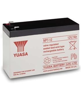 Bateria Gel Chumbo 12V 7A - 1270