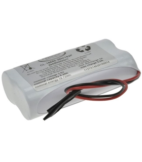 Pack Bateria MR18650 7.2V 2600mAh 3A - CL1865026H2S1P