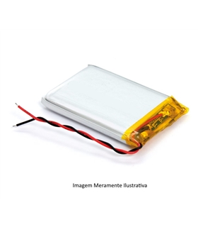 L142817 - Bateria Recarregavel Li-Po 3.7V 33mAh 1.4x28x17mm - L142817