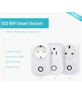 IM161115001 - S20 Smart Socket - WiFi Smart Socket - MX161115001