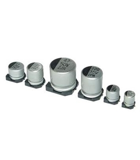 Condensador Electrolitico 100uF 50V - 3510050