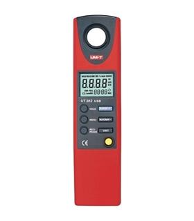 UT382 - Luximetro Digital 20-20000Lux C/ Inter. USB - UT382