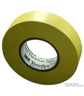 Rolo de Fita Isoladora Amarela 0.15mmX19mmX33m - FIS33Y