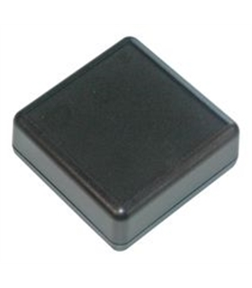 Caixa plastica 27.35x66.25x66.25 Preta - HP3649B