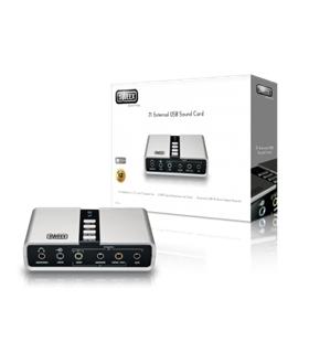 SC016 - Placa Som Externa 7.1 USB Sweex - SC016