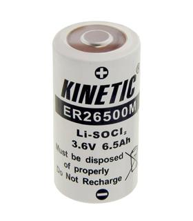 ER26500M - Battery: lithium; 3.6V; C; 6500mAh - ER26500M