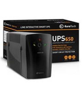 UPS650EU - SMART UPS 650VA / 390W 1USB 2RJ45 2SCHUKO - UPS650VA