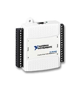 NI USB-6009 DAQ multifuncional de baixo custo, 48 kS/s, 14 - 779026-01
