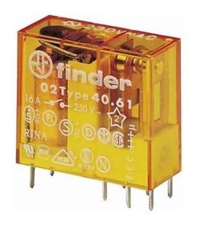 Relé 40.61.8.230.000, SPDT, 230VAC, 8A/250VAC - F40618230