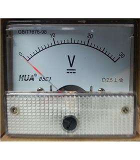 Voltimetro 0-30Vdc - V30V