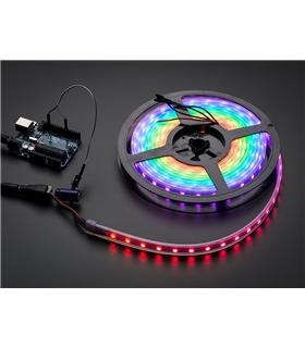 1461 - Fita LEDs RGB NeoPixel Fundo Preto - ADA1461