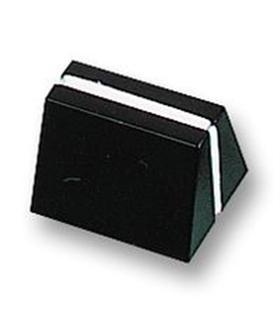 Botão Potenciometro Deslizante 20x14x13mm Preto - MXCS2/4B