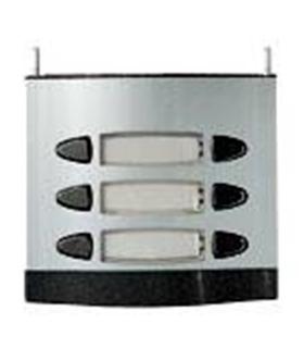 Módulo de placa de rua com 3 pulsadores duplos - MPD-003