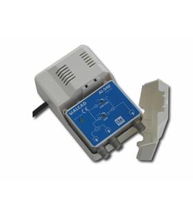 1 entrada, 2 saidas, G= UHF 24 dB, G= VHF/S 14 dB, rej. LTE - AI-240