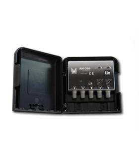 3 entradas, UHF-UHF-DAB/FM, UHF G=32 dB, DAB/FM G=20dB - AM-366